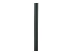 Cavus Voet 37cm rond wit staal [RAL 9010]